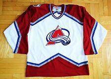 Colorado Avalanche, NHL Vintage CCM Jersey, Mens Large, SEWN