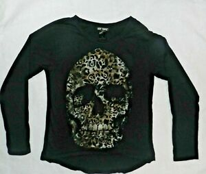 Hot Topic Womens Long Sleeve Graphic Shirt Size Small