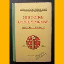 HISTOIRE CONTEMPORAINE Du XVIIIe siècle au XXe siècle Classe de Troisième 1951