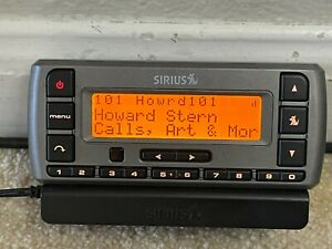 Active Sirius Starmate 3 SV3 Howard Stern 100 101 XM Satellite Radio Receiver