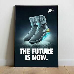 Nike Mag Limited Edition Sneaker Poster Art Print Air Max, Back To The Future