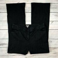 J Jill Trouser Pants Size 8 Womens Dark Wash Stretch Bootcut Jeans