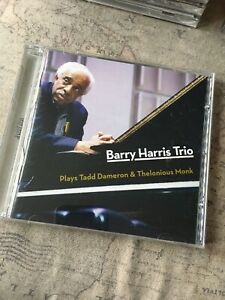 BARRY HARRIS TRIO PLAYS TADD DAMERON & THELONIOUS MONK - JAZZ CD