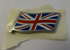 Mg Rover & MINI UNION JACK FLAG badge, Autentico, Nuovo (dag000080mm)