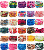 Face Mask Neck Scarf Wristband Headband Wrap Tube Scarf Bandana Art Printed New
