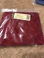 Longaberger Paprika Red Solid Sort &Store Lg Desktop Basket Liner- 2411027 New