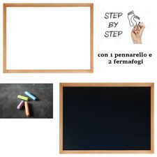 Lavagna Magnetica E Nera Per Gessi Pennarelli Divertimento Idea Regalo Casa 934