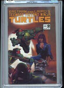 Teenage Mutant Ninja Turtles #2 Third Printing CGC 8.5 White Pages