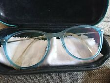 *RAY BAN superschöne Gleitsichtbrille türkis transparent* 1,25/1,0 neuwertig