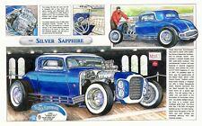 Beach Boys Little Deuce Coupe Art PRINT 1932 Ford Hot Rod Gasser Barris Custom