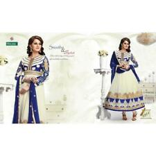 offwhite color Georgette fabric semi stitched salwar suit with dupatta