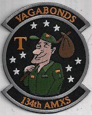 USAF 134th AMXS PATCH -        'VAGABONDS                                  COLOR