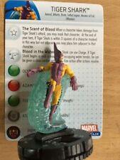 "Marvel heroclix ""incredible hulk"" # 33 Tiger Shark-rare"