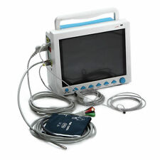 Contec CMS-8000 patient monitor NIBP,TEMP,ECG,SPO2   brand new 1y warranty