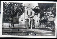 ARZEW / ORAN (ALGERIE) MAIRIE animée en 1949