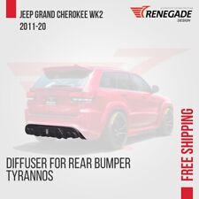 "Diffuser for rear bumper Jeep Grand Cherokee WK2 SRT 2012-2020 ""Renegade"""