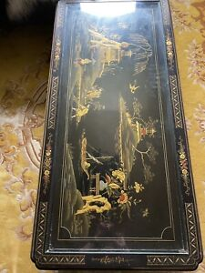 Chinese Oriental Chinoiserie Coffee Table
