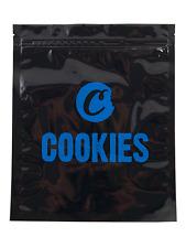Olor a prueba de las cookies XL olor libre, bloqueo de rayos UV, bolsas de agua apretado, negro de 6 PK