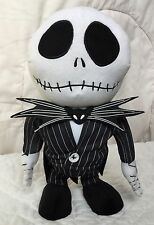 Jack Skellington Animated Plush Nightmare Before Christmas Dancing Music 12""