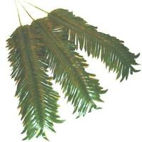 Artificial Palm Leaves - Pack of 3 - Decorative Plastic Palm Sunday Leaf
