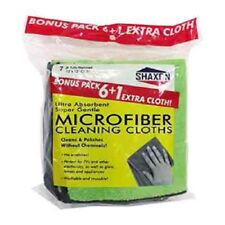 Shaxon Microfiber Cleaning Cleaning Cloths Bonus Pack 6+1 Extra (SHX-MFW61B-B)