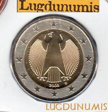 Allemagne 2008 2 Euro D Munich BU FDC provenant coffret 55600 exemplaires