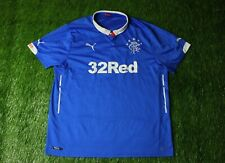 RANGERS SCOTLAND 2014/2015 FOOTBALL SHIRT JERSEY HOME PUMA ORIGINAL SIZE XXL