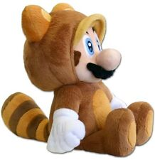 SUPER MARIO BROS. TANOOKI PELUCHE PROCIONE Plush New Wii U 3D Land Luigi World 2