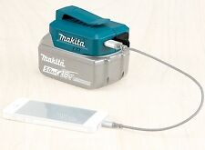 100% Genuine Makita deaadp 05 2 X USB Charger per 14.4v 18v lithium batterie al litio