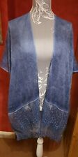 Blue kimono/beach cover up Free Size