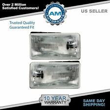 Headlamps Headlights Left & Right Pair Set for 91-96 Dodge Dakota Pickup Truck