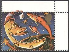 "GB 1990 ""Smiles""/Moon/Space/Rocket/Stars/Animation 1v n31132"