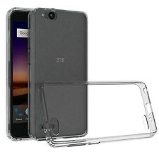 Slim Hybrid Clear Shockproof Back Cover Case For ZTE Tempo X /Blade Vantage Z839