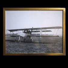 Avion d'attaque Voisin III / guerre 14-18 / tirage argentique postérieur