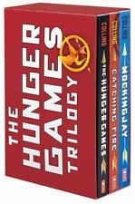 The Hunger Games Trilogy Boxset by Suzanne Collins (2014, Paperback)