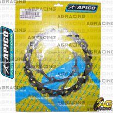 Apico Front Brake Disc Rotor 220mm For KTM SX 85 BW Big Wheel 2009 Motocross