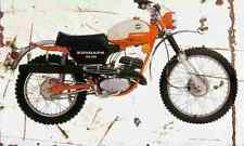 Zundapp GS125 1974 Aged Vintage Photo Print A4 Retro poster