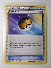 4x LEVEL BALL 89/99 Next Destinies Pokemon Trainer Cards