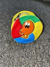 Rare 1980s Vintage Q-Bert Toy Change Purse Collectible Favor Pocket Coin Purse