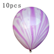 "10PCS 12"" 19 Colors High Quality Pearl Latex Thick Party Balloons 3.2g Helium"