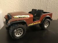 Vintage 1970's Pressed Steel Tonka XR-101 Jeep Renegade Toy Vehicle Made In USA