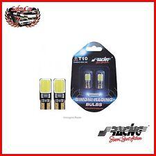 Kit 2 Lampade Led T10/COB Simoni Racing T10 12/5W CAMBUS con Resistenza 3 Watt