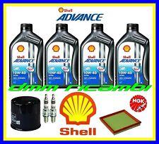 Kit Tagliando DUCATI MONSTER S4 916 02 Filtro Olio Aria Candele SHELL 10W40 2002