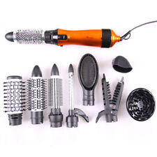 220V EU Plug 10 in 1 Multifunctional Straight Curly Hair Dryer Curling Iron Set