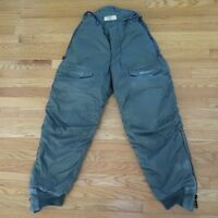VINTAGE ORIGINAL USAF AIR CREW HEAVY TROUSERS EXTREME WEATHER TYPE F-1B 1980 W28
