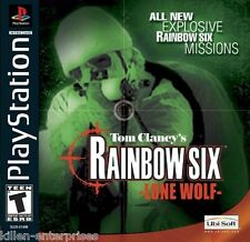 Tom Clancy's Rainbow Six: Lone Wolf (Playstation) PS1 PSX