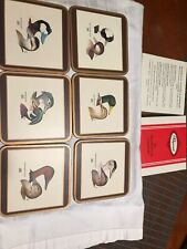Pimpernel Six Traditional Coasters- Ducks