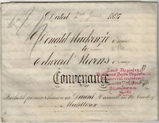 Hanwell Middlesex Vellum Conveyance Indenture Document Land/Freehold House 1897