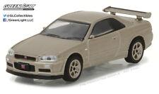 Greenlight 1:64 Tokyo Torque 2001 Nissan Skyline GT-R R34 M-Spec Silica Breath