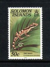 Solomon Islands 1983 Tree Gecko single value (Sg 400cB) Mnh